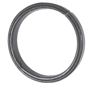 16mm Wide 8mm Thick 100mm Diameter Grooved Ring 18 2d