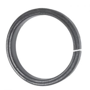 20mm Wide 8mm Thick 100mm Diameter Grooved Ring 18 2j