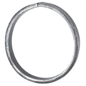 12mm Wide 6mm Thick 115mm Diameter Plain Ring 18 21ap