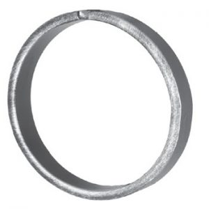 16mm Wide 6mm Thick 115mm Diameter Plain Ring 18 21bp