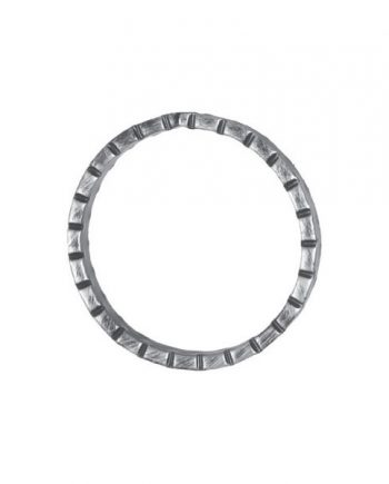 12mm Wide 6mm Thick 100mm Diameter Chisel Ring 18 2f
