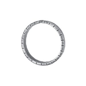 16mm Wide 6mm Thick 100mm Diameter Chisel Ring 18 2g
