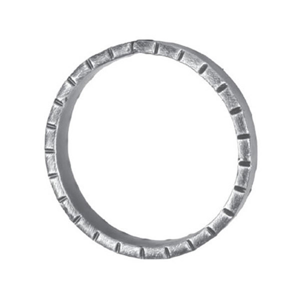 16mm Wide 6mm Thick 130mm Diameter Chisel Ring
