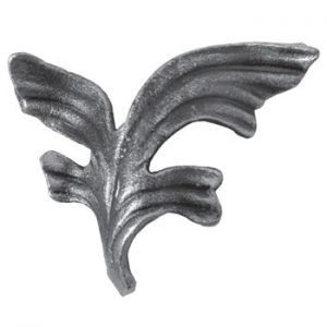 Baroque Leaf 90mm High 115mm Wide 39 139L