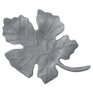 Large Grape Leaf 155mm High 110mm Wide 6mm Thick 39 20a