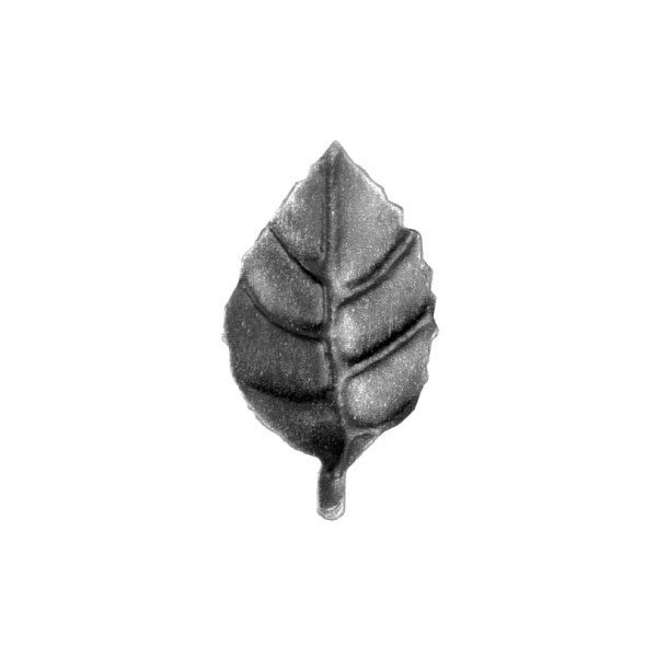 Large Rose Leaf 90mm High 50mm Wide 2mm Thick 39 17a
