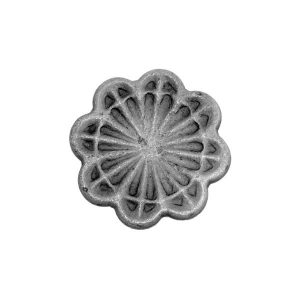 Forged Rosette 65mm Diameter 8mm Thick 39 9a