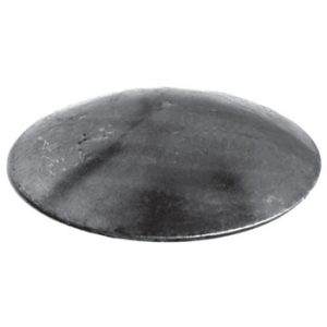 33 7mm Diameter x 3mm Domed Round Cap 50 11a