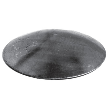42 4mm Diameter x 3mm Domed Round Cap 50/11b-0
