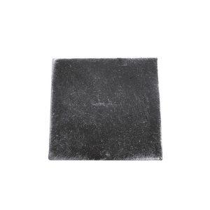40 x 40 x 3mm Plain square Cap 50/9c-0