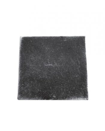 40 x 40 x 3mm Plain square Cap 50/9c-0