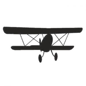 Aeroplane 130mm High x 300mm Wide x 3mm Thick 52 15