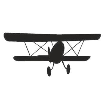 Aeroplane 130mm High x 300mm Wide x 3mm Thick 52 15