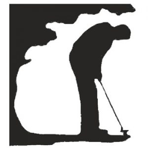 Golfer 225mm High x 205mm Wide x 3mm Thick 53 10