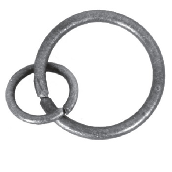 55mm Diameter Curtain Ring 56 3b