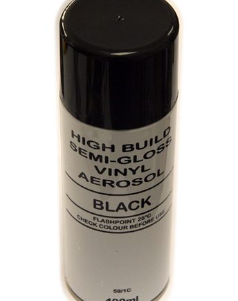 400ml Aerosol Black High Build Vinyl 59/1c-0