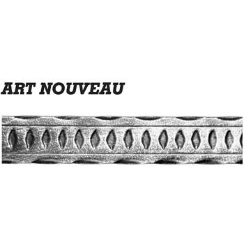 40 x 10mm Art Nouveau 3000mm Long 6 6a