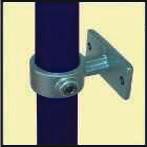 Galvanised Key Clamp Bracket For 48 3mm Outside Diameter Tube Nominal Bore 1 5 inch 60 10b