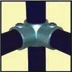 Galvanised Key Clamp Bracket For 48 3mm Outside Diameter Tube Nominal Bore 1 5 inch