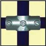 Galvanised Key Clamp Bracket For 48 3mm Outside Diameter Tube Nominal Bore 1 5 inch 60 6b