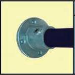 Galvanised Key Clamp Bracket For 48 3mm Outside Diameter Tube Nominal Bore 1 5 inch 60 7b