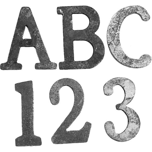 100mm x 3mm Clearance Capital Letters