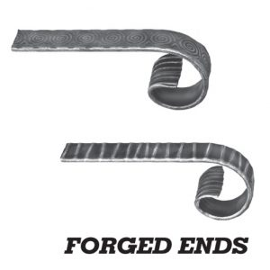 forged ends